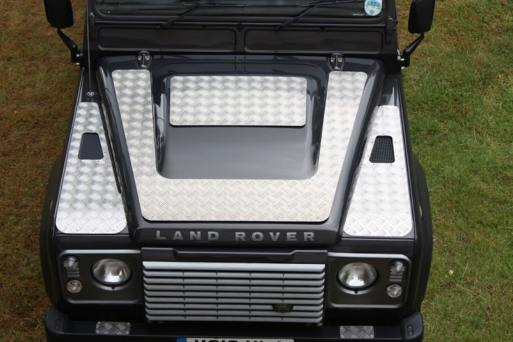 Land Rover Defender - Aluminium Wing Top Plate