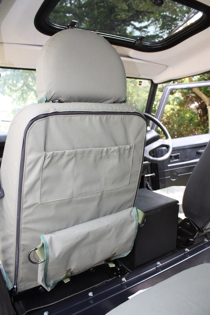 Front Seat Utility Back - Attached