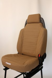 Front Seat Cover for a Discovery (Desert Sand - Striped)