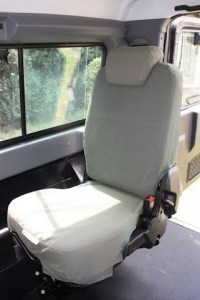 Rear Fold Down Seat Cover - (Defender Post 2007)